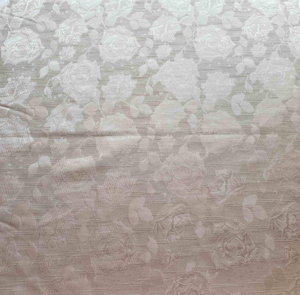 Mila Ola Sofia Brocade Silver Curtain Dream